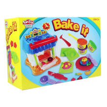 Fun Doh Bake It! Oven Set Incl 3 pcs Doh
