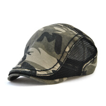 JAMONT Men's Fashion Import Camouflage Cap Net Solid Cotton Outdoor Hooded Hat