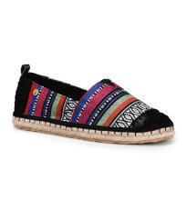 TheSak Ella Slip On Black Stripe