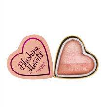I Heart Makeup Blushing Hearts Triple Baked Blush-peachy pink kisses