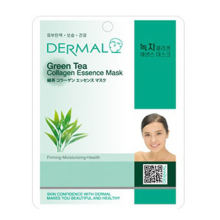 Dermal Green Tea Collagen Essence Mask 10pc