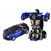 Famirosa One Step Impact Deformation Car Mini Transformation Robot Toy