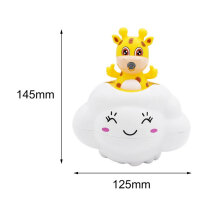 [OUTAD] Interesting Baby Bath Toys Children Kids Water Bathing Rain Clouds Funny Toys Multicolor