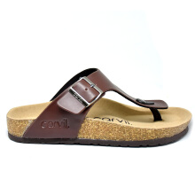 CARVIL Sandal Footbed Man Jaden-01 Brown