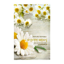NATURE REPUBLIC Real Nature Chamomile Mask Sheet