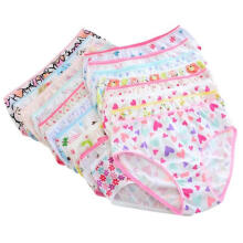Farfi 6Pcs Kids Girls Underpants Flower Heart Cotton Panties Child Underwear Briefs