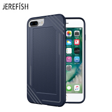JEREFISH iPhone 6 6s 7 8 Plus Shockproof Phone Case Rugged Hybrid Hard PC Soft Silicone Full Body Protective Phone Cover