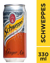 Schweppes Ginger Ale 330 Ml — 24can