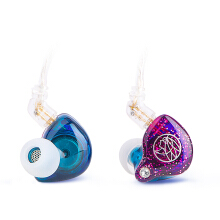 TFZ My Love II HiFi In Ear Monitor Earphone with Detachable Cable - Violet