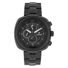 Expedition E 6746 MC BIPBA Chronograph Men Black Dial Black Stainless Steel Strap [EXF-6746-MCBIPBA]