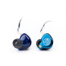 TFZ T2 Galaxy HiFi In Ear Monitor Earphone with Detachable Cable - Blue