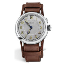Oris Big Crown 732 7736 4081 LS Silver Dial Brown Leather Strap [732 7736 4081 LS]