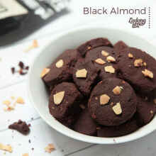 Blackmond Cookies Ladang Lima Almond Cookies Asi Booster Diet