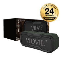 VIDVIE Wireless Speaker SP903 / Bluetooth / Portable Speaker Army Green