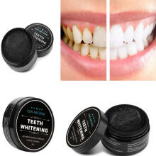 Farfi 30g/Box Charcoal Teeth Whitening Powder Stain Remover Cleaning Oral Health Care as the pictures