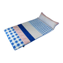 THE LUXE Sleepmaker Camping Matt - Blue Plaid / 90x190