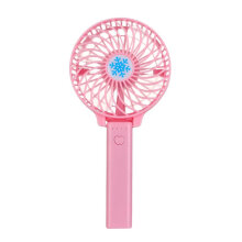 Foldable Handheld Fan USB Rechargeable Mini Fan Cooler for Outdoor Travel blue