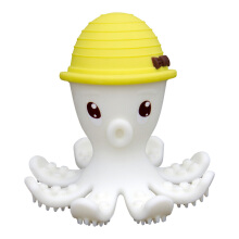 Mombella Octopus Teether Toy Doo Yellow