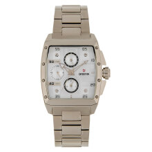 Expedition E 6636 BF BCGSL Ladies Silver Dial Light Gold Stainless Steel Strap [EXF-6636-BFBCGSL]