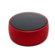 Keymao Mini Bluetooth Speaker with 9 Hour Playtime Portable Wireless Speaker Silver Red
