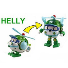 BL Super Wings Deformation Mini ABS Robot Toy Kids Toy Car -One Size -