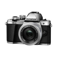 Olympus OM-D E-M10 Mark II Silver with 14-42mm II EZ + Bonus SDHC 16GB