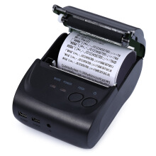 ZJ - 5802LD Mini Bluetooth 2.0 3.0 4.0 58mm Thermal Receipt Printer Black