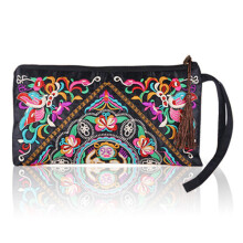 Farfi Retro Ethnic Embroider Hand Bag