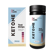 KETONE TEST STRIPS Urinalysis Diet Reagent Strips Tes Kesehatan & Diabetes (50 strips) 150gr Others