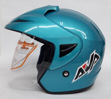 AVA Cruiser Helm Half Face - Ice Blue L Light Blue L