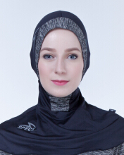 SPECS ESORRA HIJAB CAP W - BLACK (HIJAB ONLY) Multicolor NS