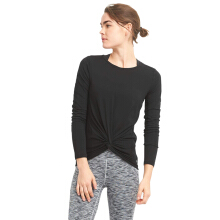 GapFit Twist-Front Long Sleeve Top-14-GFLS000