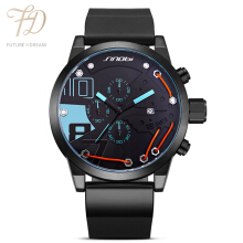 PEKY 9728 Men's Watches Sports Watch Waterproof Fashion Casual Quartz Watch