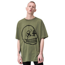 CHEAP MONDAY Squad Tee  0553166 - Bleached olive