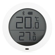 Famirosa Xiaomi Smart Thermostat Accuracy Temperature and Humidity Monitor - White