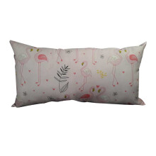 NAMALE Fancy Cushion Flamingo - White