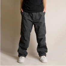 SBART Autumn Winter Men Warm Fleece Cargo Pants Cotton Multi Pocket Military Overall Outdoor Long Trousers