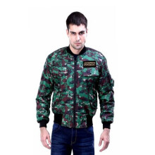 G-SHOP - MEN SWEATER JAKET HOODIES DISTRO PRIA - FBI 1418 - HIJAU SIZE- M