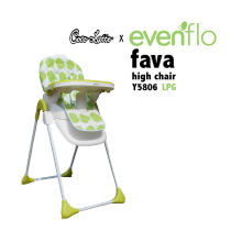 COCOLATTE High Chair Evenflo Fava Y 5806 - LPG