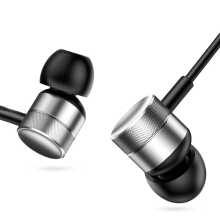 Jantens Headphones in-ear sports earphone with microphone for Xiaomi iPhone Samsung headphones Silver