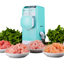 Jantens Manual Meat Grinder Multifunction Meat Mincer Food Processor for Chopper Blue