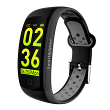 KYM Q6S Smart band 3D dynamic UI Call Reminder/Rejection Drinking Reminder Information Reminder Smart Bracelet Watch