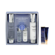 AHC Hyaluronic Toner  (100 ml + 30 ml) + Hyaluronic Emulsion (100ml + 30 ml) + Ultimate Real Eye Cream 12ml