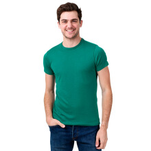 STYLEBASICS Men's Round Neck Basic T-shirt - Turqoise Green