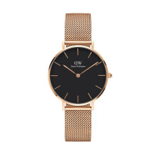 Daniel Wellington Classic Petite Melrose Black - Gold [B32R1] - 32mm