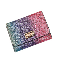Si Ying S431 Import Ms. Wallet / Korea original /Short frosted wallet