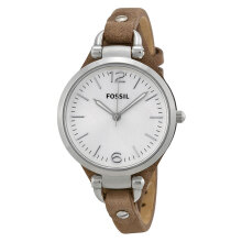 Fossil ES3060 Georgia Brown Leather Strap [ES3060]