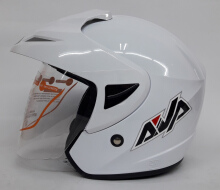AVA Cruiser Helm Half Face - White L