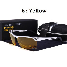 SHYBIRD Fashion Aluminum Magnesium Alloy Polarized Men Driving Riding glasses