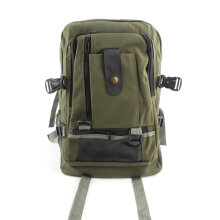[COZIME] Men Canvas Backpack Vintage Rucksack Backpack School Bags Casual Travel Bags Others